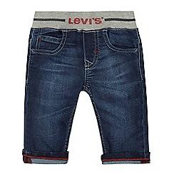 Levi's - 'Baby boys' blue logo jeans