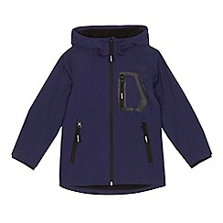 bluezoo - 'Boys' navy shower resistant coat