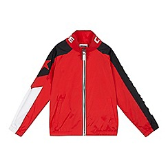 Converse - Boys' red star bomber jacket