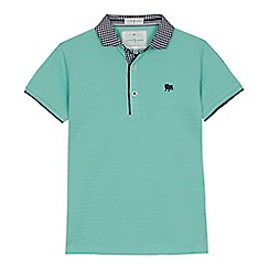 J by Jasper Conran - 'Boys' light green polo shirt