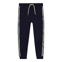 bluezoo - 'Boys' navy striped trim jogging bottoms