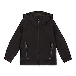 bluezoo - Boys' black shower resistant jacket