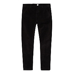 bluezoo - Boys' black corduroy skinny fit trousers