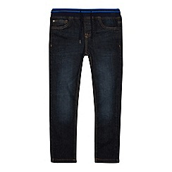 bluezoo - Boys' dark blue mid wash skinny jeans