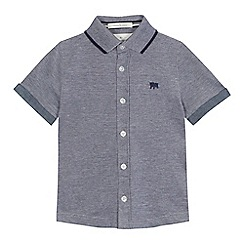 J by Jasper Conran - 'Boys' grey tipped polo shirt