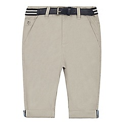 J by Jasper Conran - Boys' light grey chino shorts