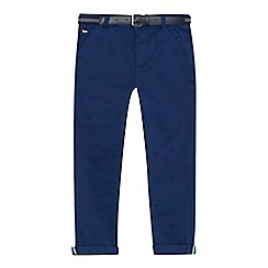 J by Jasper Conran - Boys' blue slim fit chino trousers