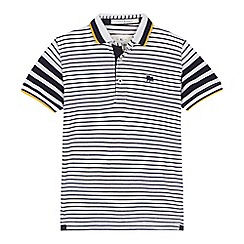 J by Jasper Conran - 'Boys' white striped polo shirt