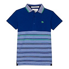 J by Jasper Conran - 'Boys' blue striped polo shirt