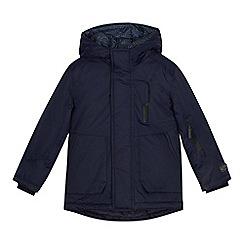 J by Jasper Conran - Boys' navy 3-in-1 waterproof padded coat
