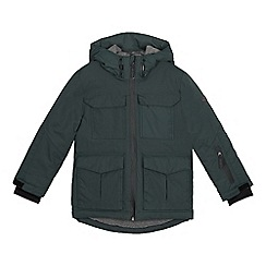 J by Jasper Conran - Boys' green waterproof jacket