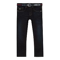 J by Jasper Conran - Boys' dark blue slim fit jeans