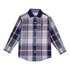 J by Jasper Conran - Boys' multi-coloured check print shirt