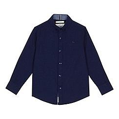 J by Jasper Conran - Boys' navy button down collar shirt