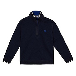 J by Jasper Conran - 'Boys' navy tipped sweater