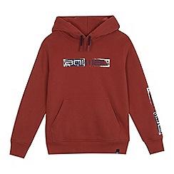 Animal - Boys' red logo print hoodie