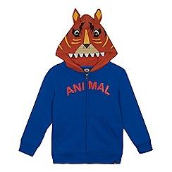 Animal - Boys' blue tiger hoodie