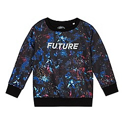 bluezoo - Boys' multicoloured sublimation dye print sweater