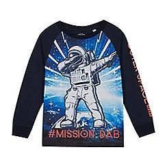 bluezoo - Boys' Navy 'Mission Dab' T-Shirt