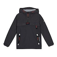 Mantaray - Boys' dark grey shower resistant jacket