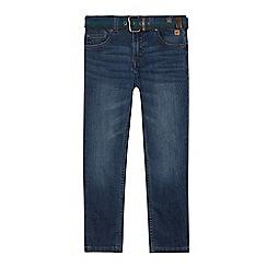 Mantaray - Boys' blue vintage wash skinny jeans
