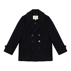 J by Jasper Conran - Kids Navy Pea Coat