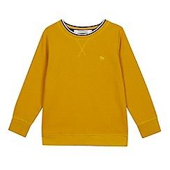 J by Jasper Conran - Boys' Yellow Ottoman Jumper