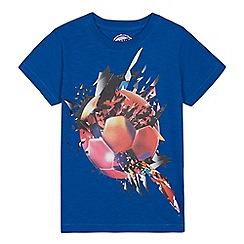 bluezoo - Boys' Blue Football T-Shirt