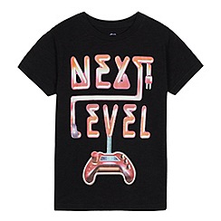 bluezoo - Boys' Black 'Next Level' T-Shirt