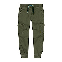 Mantaray - Boys' Khaki Cargo Jogging Bottoms