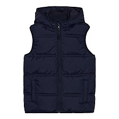 bluezoo - Boys' Navy Shower Resistant Gilet