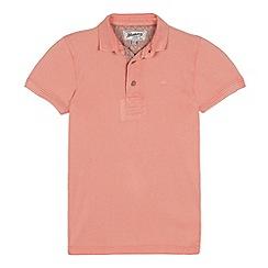 Mantaray - Boys' Coral Cotton Polo Shirt
