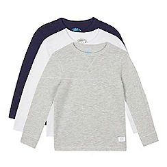 bluezoo - Pack of three boys' assorted long sleeved tops
