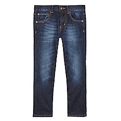 Levi's - Boys' dark blue mid wash '504' jeans