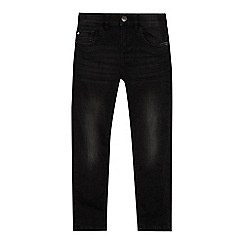 bluezoo - Boys' black faded skinny jeans