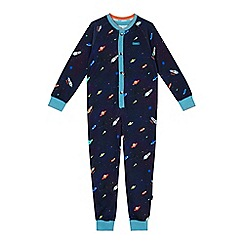 Baker by Ted Baker - Boys' navy space print onesie