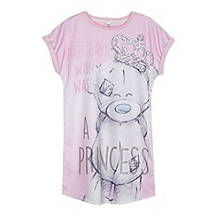 Tatty Teddy - Girls' pink 'Me to You' print nightdress
