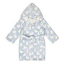 bluezoo - Girls' blue bunny dressing gown