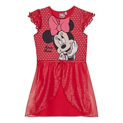 Minnie Mouse - Girls' red 'Minnie Mouse' Nightie