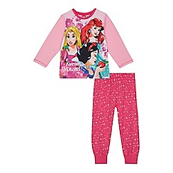 Disney Princess - Girls' multi-coloured 'Disney Princess' print pyjama set