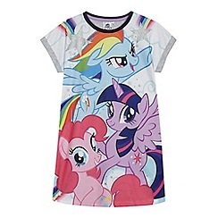 My Little Pony - Girls' multi-coloured 'My Little Pony' nightie