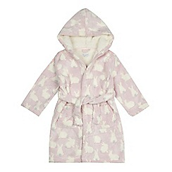 bluezoo - 'Girls' pink bunny dressing gown