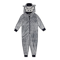 bluezoo - Boys' grey gorilla onesie