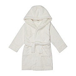 J by Jasper Conran - Kids' Cream Dressing Gown