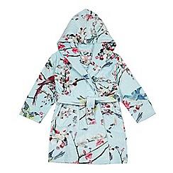 Baker by Ted Baker - Girls' blue oriental-inspired print dressing gown