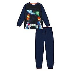 Baker by Ted Baker - Boys' blue space print pyjama set