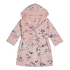 Baker by Ted Baker - Girls' pink Pegasus print dressing gown