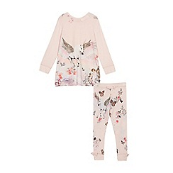 Baker by Ted Baker - Girls' Pink Printed Pyjama Set