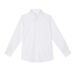 Debenhams - 'Boys' white regular fit Oxford school shirt