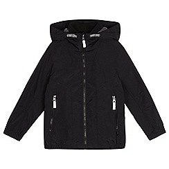 Debenhams - Boys' black fleece lined coat